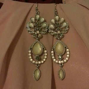 Blush pink earings